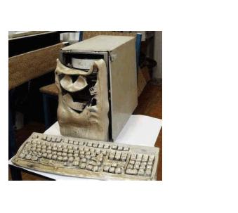 Computer-Meltdown