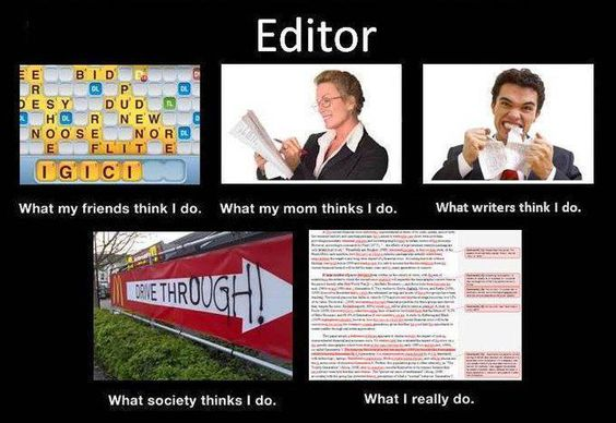 What editors do