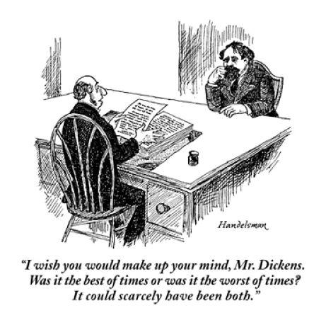 Charles Dickens editing joke