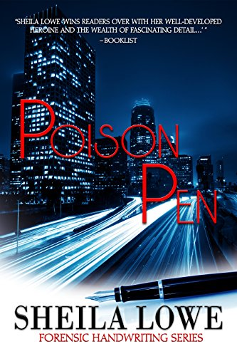 posion pen by sheila lowe book cover