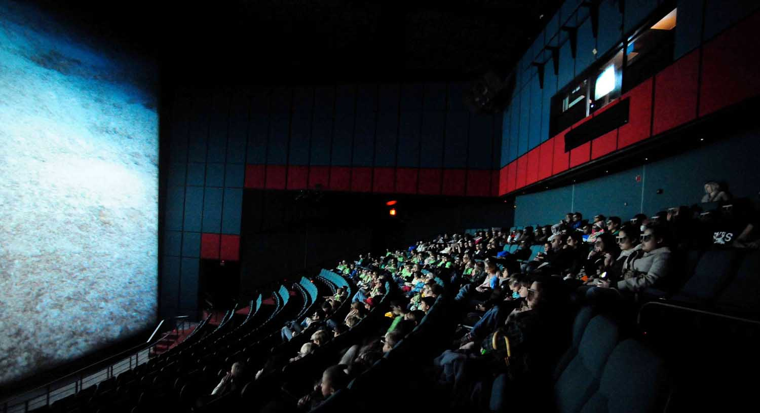 people in Movie Theatre image