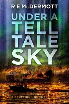 under a telltale sky by r e mcdermott book cover