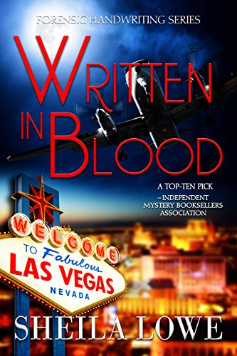written in blood by sheila lowe book cover