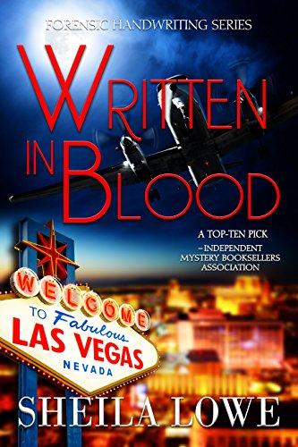 written in blood by sheila lowe book cover
