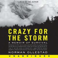 crazy for the storm by norman ollstead book cover