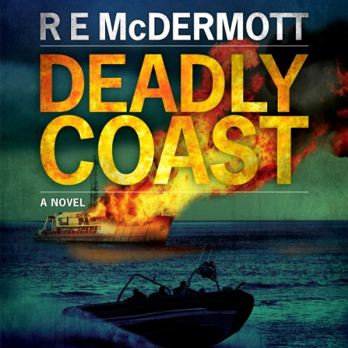 deadly coast by r e mcdermott book cover