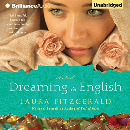 dreaming in english by laura fitzgerald book cover