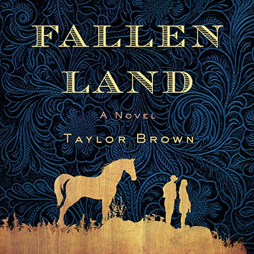 fallen land by taylor brown book cover