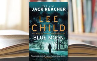 Blue Moon Lee Child Book Cover