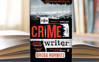 The Crime Writer by Gregg Hurwitz Blog header