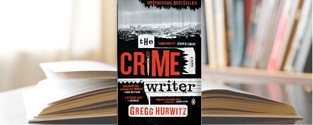 The Crime Writer by Gregg Hurwitz Blog header