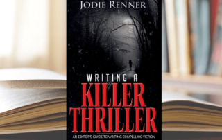 Jodie Renner Writing a Killer Thriller book cover-min
