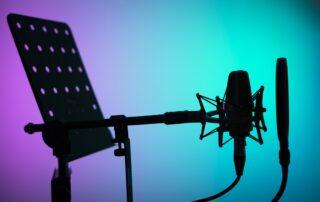 Voice over studio