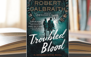 troubled blood by robert galbraith book cover